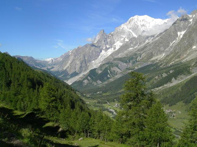 giro del Monte Bianco: Val Ferret